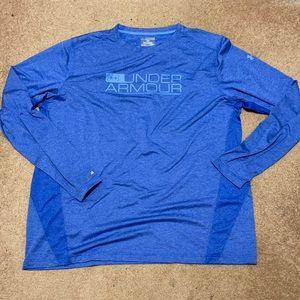 Under armour heat gear fishing shirt size 3XL